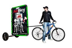 bike trailer, bicycle trailer, business bike, business on bike,    moving advertising  mobile billboard advertising,  outdoor advertising media,  media outdoor advertising,  trailer advertising,  advertising trailer  advertising outdoors,  outdoor advertising Get most value of the penny you spend on advertising with a fix monthly fee but unlimited text and banner advertising. Find out more at http://www.theonlineadnetwork.com/affiliates/t.php?rid=6121