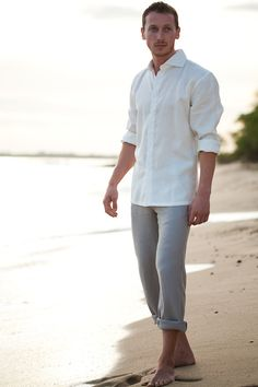 Linen Amalfi Shirt LS