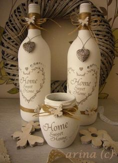 Turn Your Empty Wine Bottles Into Great Works Of Art Decorating . turn your empty wine bottles into great works of art decorating diy crafts empty wine bottles - Diy Wine Bottle Crafts Empty Wine Bottles, Wine Bottle Corks, Glass Bottle Crafts, Painted Wine Bottles, Diy Bottle, Bottles And Jars, Decorated Bottles, Plastic Bottles, Glass Bottles