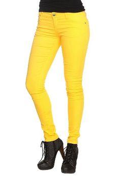 Royal Bones Yellow Skinny Jeans