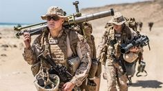 SENOOR BEACH, Oman (Feb. 15, 2017) U.S. Marine Cpl. Johnathan Riethmann, a mortarman with Company A, Battalion Landing Team 1st Bn., 4th Marines, 11th Marine Expeditionary Unit, walks to a staging area at Senoor Beach, Oman, in preparation for Exercise Sea Soldier, Feb. 15. Sea Soldier 2017 is an annual, bilateral exercise conducted with the Royal Army of Oman  (U.S. Marine Corps photo by Gunnery Sgt. Robert B. Brown Jr.)