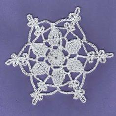 Christmas Star Snowflake Free Pattern