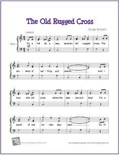 The Old Rugged Cross | Hymn for Easy Harp Solo - MakingMusicFun.net
