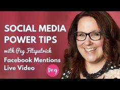 Social Media Power Tips: Facebook Live Video - YouTube + Social Media Tutorials