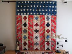 Cozy Little Quilts: My Patriotic Quilts and a finish !