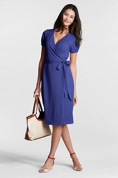 Just ordered this lovely and versatile wrap dress from #landsend. Dress it up, dress it down, wear it everywhere. Perfect for travel.