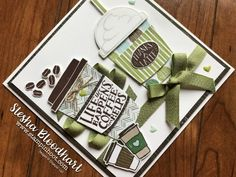Stampin Up - Coffee Cafe