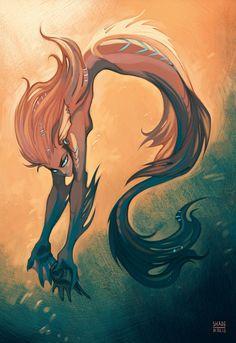 Mermaid by SHADE-ShyPervert