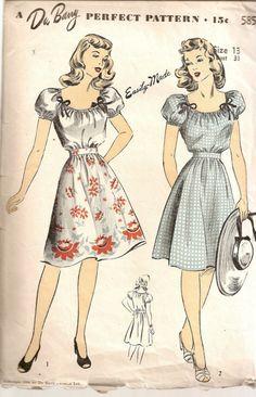DuBarry Pattern 5854 -- 1944