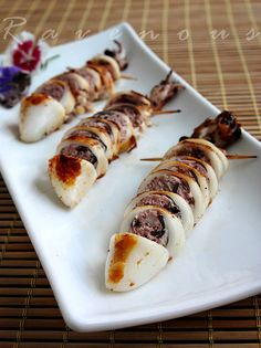 #Vietnamese Stuffed #Squid - Muc Nhoi Thit #recipe