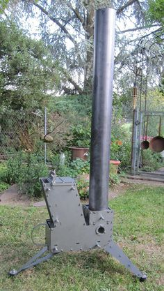 The Raketenöfen is A rocket stove that does it all.