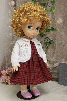 Doll's Dress & Sweater / Disney Animator Doll Rapunzel