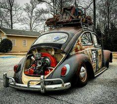 #vw #volkswagen #sedan #vocho #fusca #ratlook #ratrod #rust #oxido #hoodride