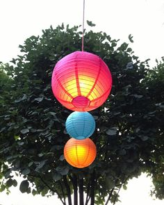 One sure-fire way to light up a summer party is to festoon an outdoor room with paper lanterns. Here are our favorite sources.