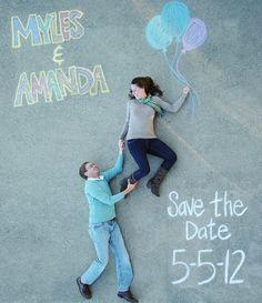 Muito fofo e criativo esse Save the Date, além de barato! Uma ótima dica para quem quer gastar pouco!