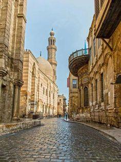 Al-Moez Street, Old Cairo,Egypt                                                                                                                                                      More