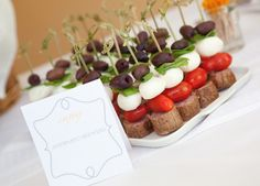 Antipasto Skewers Engagement Party