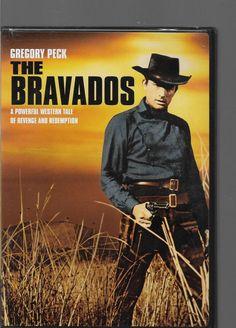 THE BRAVADOS DVD  GREGORY PECK JOAN COLLINS STEPHEN BOYD HENRY SILVA Western