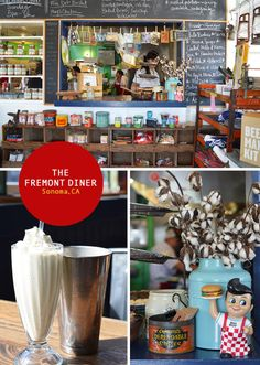 Fremont Diner: All details in the diner space within are perfect. Try the salted caramel milk shake.
