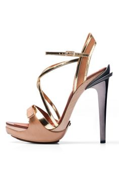 Fun and sexy rose gold heels!
