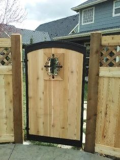 Spanish Style Wood Fences And Gates Custom Wood Gates