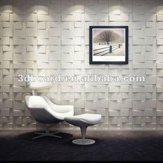 Rubik Board Wall Cladding Tiles - Interior Decorative Tile Panels Box in Home, Furniture & DIY, DIY Materials, Wallpaper Pvc Wall Panels, 3d Panels, Decorative Wall Panels, Tile Panels, Decorative Tile, Accent Wall Panels, Ceiling Panels, Interior Walls, Home Interior