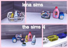 Sims 4 CC's - The Best: Laundry Clutter by LenaSims