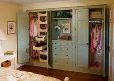 Great closet storage idea-- by RBono