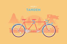 """""""You Are What You Ride"""" Illustrated Bikes by Romain Bourdieux and Thomas Pomarelle - http://www.cyclemon.com/"""