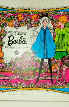 World of Barbie Doll Case - 1968