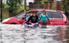 Drowning in rainy day blues The British weather is now beyond a joke – Weather Jokes, Uk Weather, Floods In England, Flooded Roads, Isaiah 28, Pensacola Florida, State Of Colorado, Going To Rain, Baton Rouge