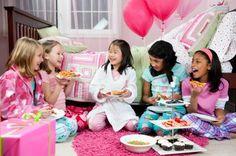sleepover party | Slumber Party Theme Ideas