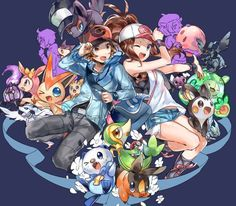 Twitter Pokemon Mew, Pokemon Manga, Black Pokemon, Pokemon Ships, Pokemon Comics, Pokemon Fan Art, Cute Pokemon, Pokemon Stuff, Pokemon Adventures Manga