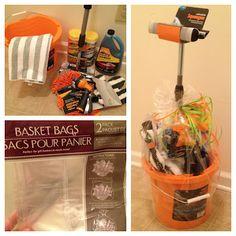 DIY Gift | Car Wash Basket