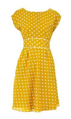 Louche Vale Spot Bow Dress