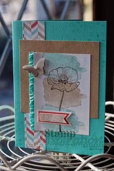 Stampin' Up! Happy watercolor