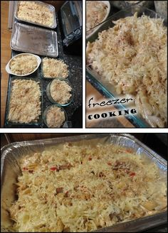 Freezer Meal Cooking: Macaroni Grill Penne Rustica {copycat recipe}