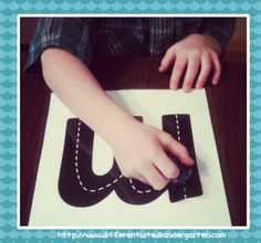 Letter writing practice with cars  A Differentiated Kindergarten