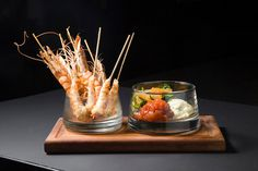 Check out our prawn cocktail, updated for the iPad generation!