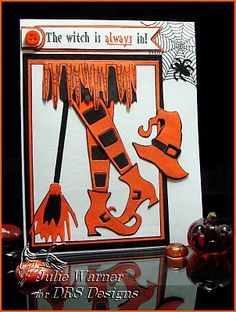 DRS Designs Rubber Stamps: The Witch is ALWAYS In!
