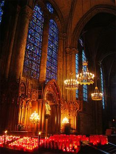 Interior, Chartres Cathedral of Notre-Dame http://en.wikipedia.org/wiki/Chartres_Cathedral