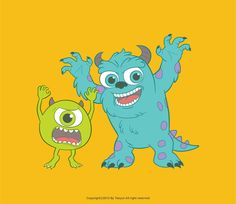 Monsters, Inc. by ~Tae-yun on deviantART