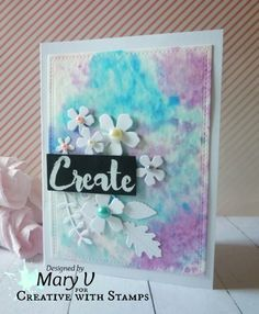 My Other World: Mid- Month Inspiration - Creative With Stamps