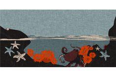 Tropical Tide Pool fabric by jwitting on Spoonflower - custom fabric