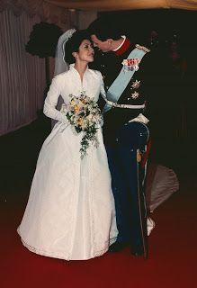 the pink royals: The wedding of Prince Joachim of Denmark and Alexandra Christina Manley - November 1995