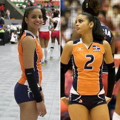 Brenda Castillo, Beautiful Volleyball Player from Dominican Republic - TibbaBrenda Castillo ( was born June 1992 in the town of San Cristobal ), she is a female Volleyball player from the Dominican Republic and plays as a libero. Girls Volleyball Shorts, Volleyball Tips, Female Volleyball Players, Volleyball Pictures, Women Volleyball, Gymnastics Girls, Winifer Fernandez, Sporty Girls, Gym Girls