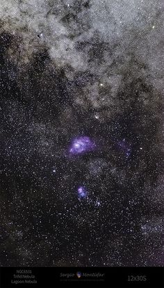 Milky Way Core This is the Milky Way Core, the Triffid Nebula, Lagoon Nebula and NGC 6531 | by Sergio Emilio Montúfar Codoñer