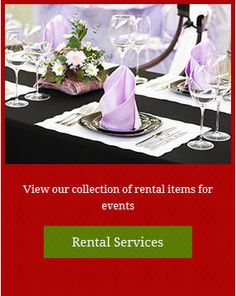 #Maryland Party Rentals #Caterers