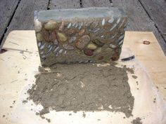 """For our pebble mosaic we used the """"precast"""" method. Rather than the considerable restraints imposed by creating the piece on location, or """"i..."""