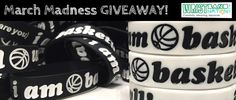 Are you ready for March Madness? You can show your excitement with a free bracelet.  Get a free I Am Basketball wristband. Sign up here with your information.